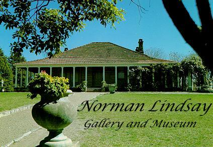 Norman Lindsay Gallery & Museum Website